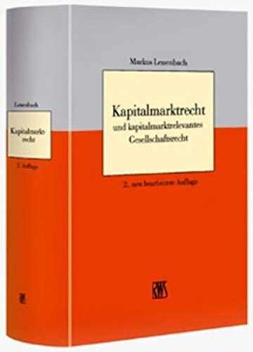 9783814581279: Kapitalmarkt- und B�rsenrecht: Praxislehrbuch Wirtschaftsrecht