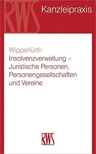 9783814581927: Insolvenzverwaltung - Natürliche Personen