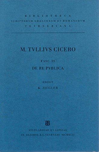 Ciceronis, M. Tulli, scripta quae manserunt omnia: Cicero, M.Tullius