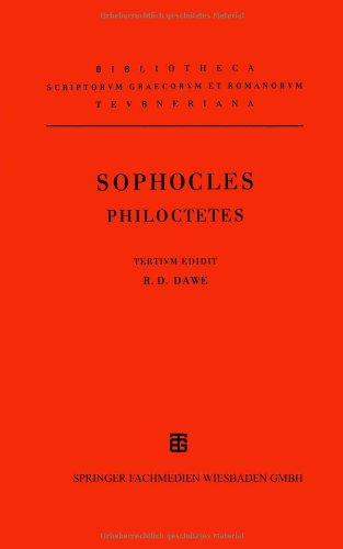9783815418154: Sophoclis: Philoctetes (Bibliotheca Scriptorum Graecorum Et Romanorum Teubneriana) (German Edition)