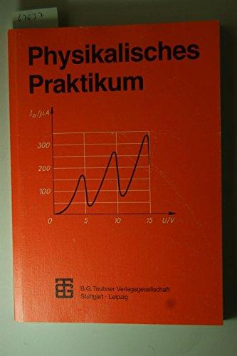 9783815430118: Physikalisches Praktikum für Anfänger