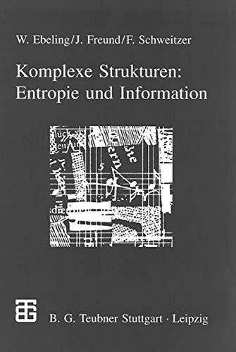 9783815430323: Komplexe Strukturen: Entropie und Information (German Edition)