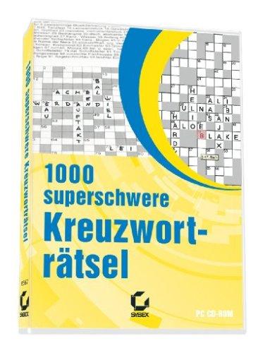 9783815565674: 1000 superschwere Kreuzwortr�tsel