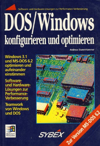 9783815570586: DOS /Windows konfigurieren und optimieren