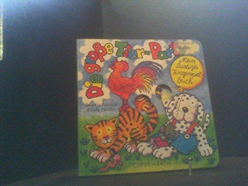 9783815714539: Die grosse Tier-Party. Mein lustiges Fingerspielbuch