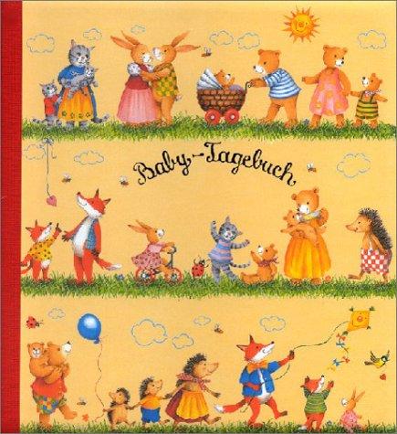 9783815723517: Baby- Tagebuch. Rot.