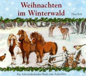 9783815737118: Weihnachten im Winterwald: Adventskalender-Leporello-Buch