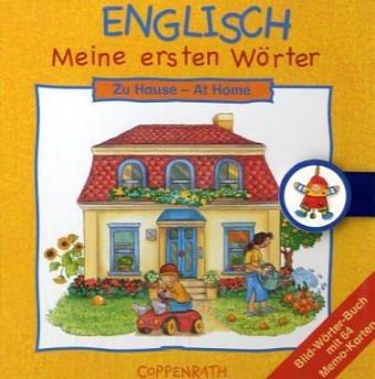 9783815738610: Englisch: Meine ersten Wörter: Zu Hause: Bild-Wörterbuch mit 64 Memo-Karten
