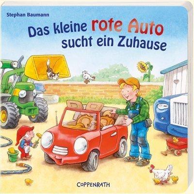 9783815741276: Das kleine rote Auto sucht ein Zuhause
