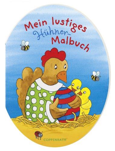 9783815752609: Mein lustiges Hühner-Malbuch