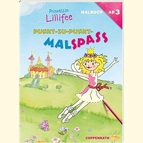 Prinzessin Lillifee Malbücher für Kinder Bastel- & Kreativ-Bedarf für Kinder Punkt-zu-Punkt-Malspaß Taschenbuch Deutsch 2019