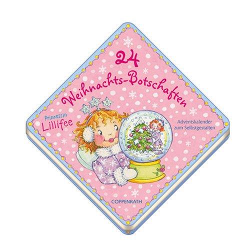 9783815771556: Prinzessin Lillifee, 24 Weihnachtsbotschaften