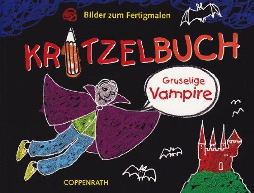 9783815796504: Kritzelbuch - Gruselige Vampire