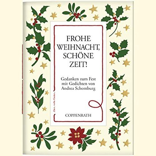 9783815797716: Der rote Faden: Frohe Weihnacht, schöne Zeit!: Gedanken zum Fest mit Gedichten von Andrea Schomburg (Verkaufseinheit)