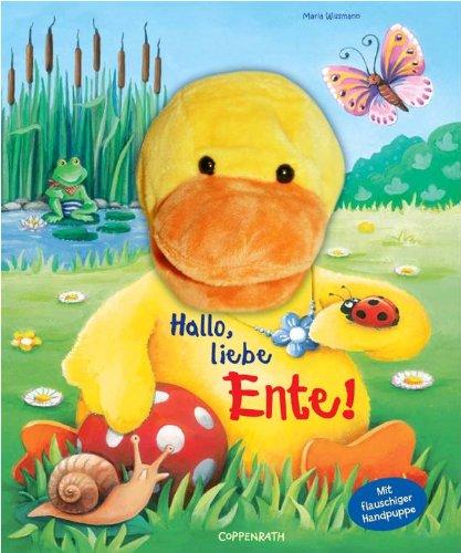 9783815798409: Mein erstes Handpuppenbuch - Hallo, liebe Ente