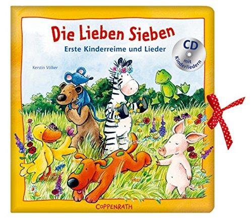 9783815799666: Die Lieben Sieben: Erste Kinderreime und Lieder. Ab 18 Monaten