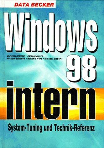 9783815810972: Windows 98