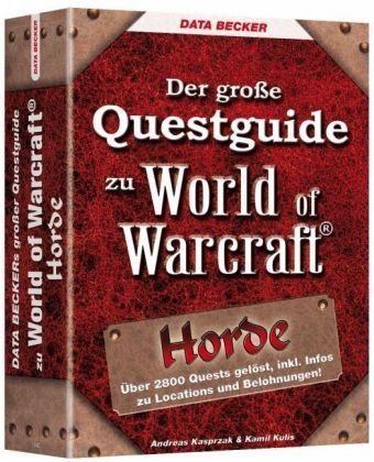 9783815818411: Der große Questguide zu World of Warcraft: Horde