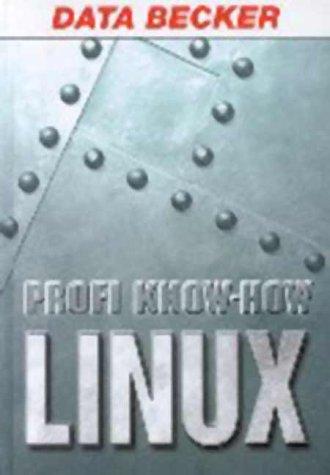 9783815820490: Profi Know - How Linux