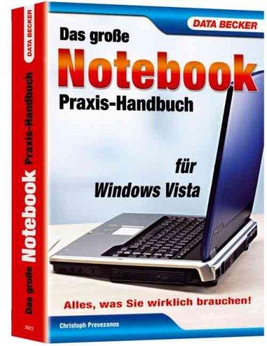 9783815829226: Das gro�e Notebook-Praxis-Handbuch f�r Windows Vista