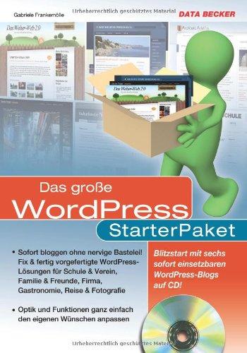9783815829745: Das große WordPress StarterPaket