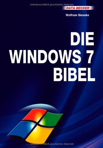 9783815830390: Das grosse Buch Die Windows 7 Bibel