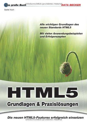 9783815830703: Das große Buch HTML 5