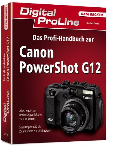 9783815835296: Digital ProLine Profihandbuch Canon PShot G12
