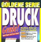 9783815863237: Goldene Serie. Druckgenie. CD- ROM für Windows 95