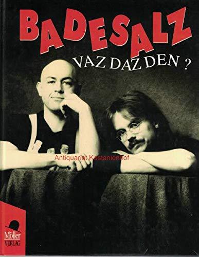 9783815900215: Vaz daz den? (German Edition)