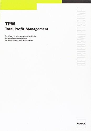9783816303527: TPM - Total Profit Management
