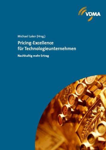 9783816305378: Pricing-Excellence f�r Technologieunternehmen: Nachhaltige mehr Ertrag