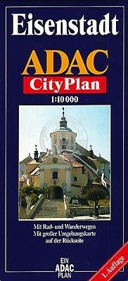 9783816492627: Stadtplan Eisenstadt: Die Landeshauptstadt des Burgenlandes : mit ihren Ortsteilen Kleinhöflein und St. Georgen = Plan de ville = Town map (German Edition)