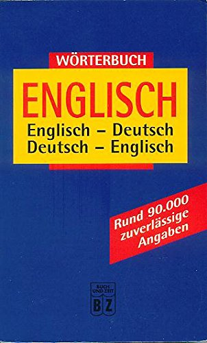 9783816604181: Worterbuch Englisch - Deutsch, Deutch - Englisch