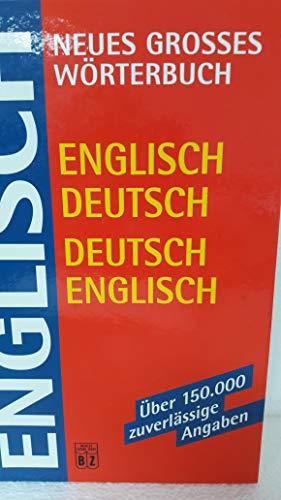 9783816605010: Englisch Deutsch, Deutsch Englisch Dictionary!