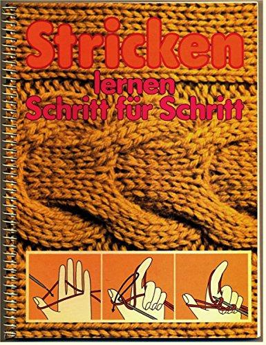 9783816694380: Stricken lernen Schritt für Schritt.