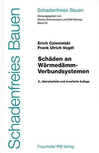 Schäden an Wärmedämm-Verbundsystemen: Erich Cziesielski