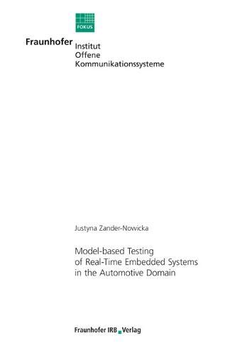 9783816779742: Model-based Testing of Real-Time Embedded Systems in the Automotive Domain