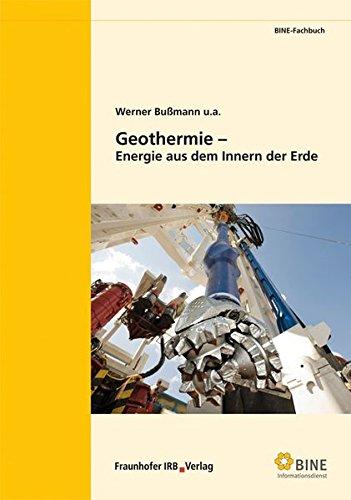 9783816783213: Geothermie - Energie aus dem Innern der Erde