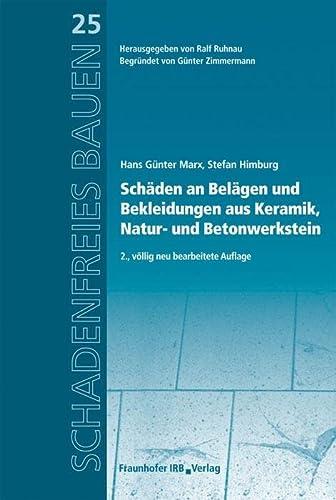 9783816783893: Schäden an Belägen und Bekleidungen aus Keramik, Natur- und Betonwerkstein