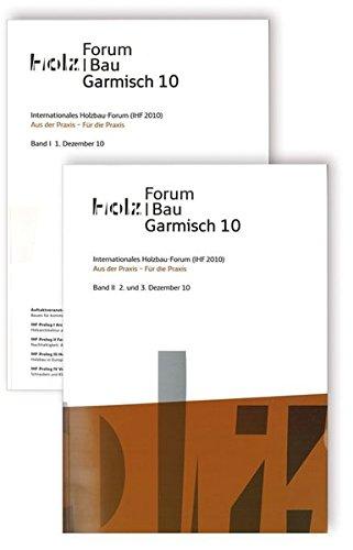 9783816784265: Internationales Holzbau-Forum (IHF 2010). 2 Bde.