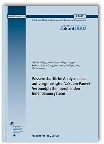 Wissenschaftliche Analyse eines auf vorgefertigten Vakuum-Paneel-Verbundplatten beruhenden Innend&...