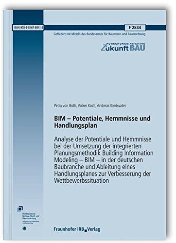 BIM - Potentiale, Hemmnisse und Handlungsplan: Petra von Both