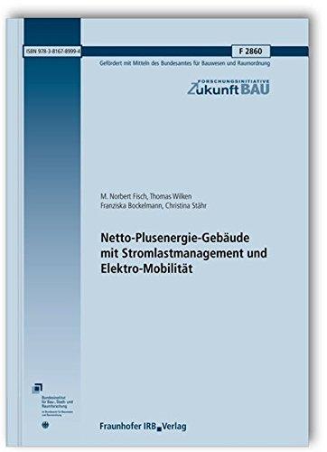 9783816789994: Netto-Plusenergie-Gebäude mit Stromlastmanagement und Elektro-Mobilität. Abschlussbericht
