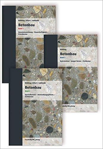 Betonbau. Band 1 - 3: Stefan Röhling