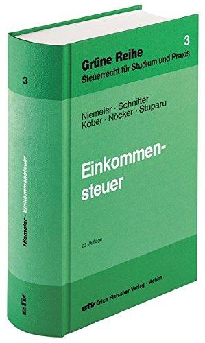 Einkommensteuer: Gerhard Niemeier