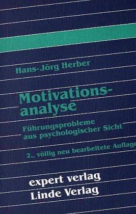 9783816900061: Motivationsanalyse. Theorie und Praxis