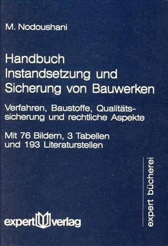 Handbuch Instandsetzung und Sicherung von Bauwerken: Mohammad Nodoushani