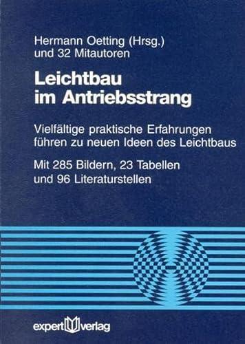 Leichtbau im Antriebsstrang: Hermann Oetting