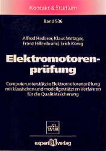 9783816914983: Elektromotorenprüfung